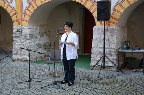 Moda/Izložbe - 'Nit ustvarja nakit' - otvorenje, gđa. Ivana Leskovec. Foto: VJB.