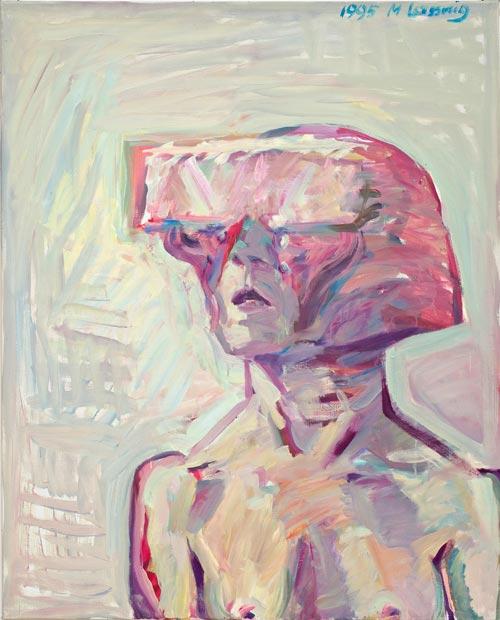 Izložba Marie Lassnig 'Der Ort der Bilder' / 'Mjesto slika' [Osvrt by Sonja Jeđud]