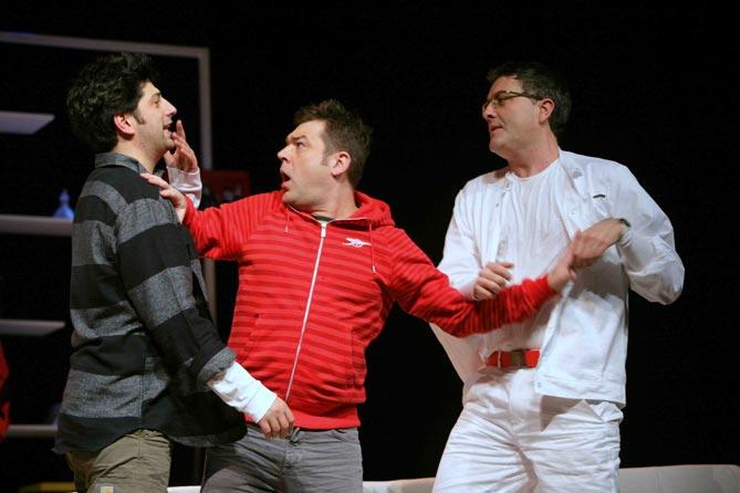 Premijera predstave 'Ne igraj na Engleze' u kazalištu Kerempuh 23. prosinca 2012. godine