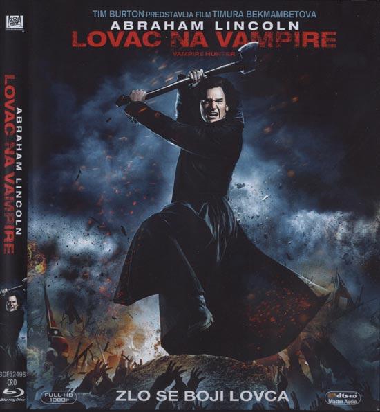 Naslovnica Blu Raya 'Abraham Lincoln: Lovac na vampire'