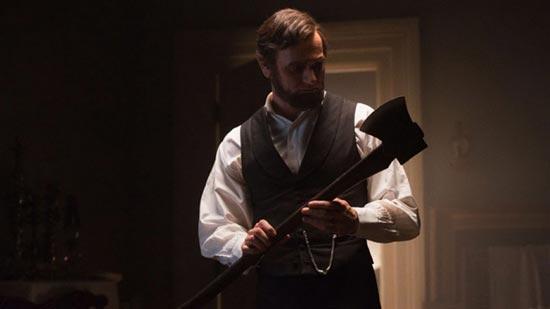 Prizor iz filma 'Abraham Lincoln: Lovac na vampire'