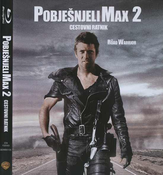 Naslovnica blu rayja 'Pobješnjeli Max 2'
