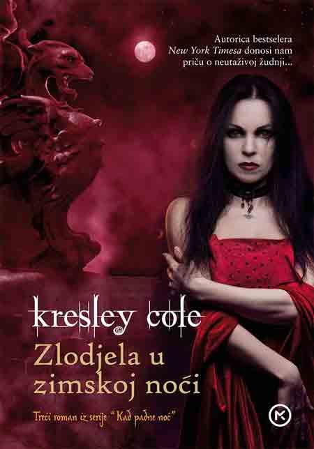 Knjiga: 'Zlodjela u zimskoj noći' Kresley Cole treći roman erotske serije 'Kad padne noć'