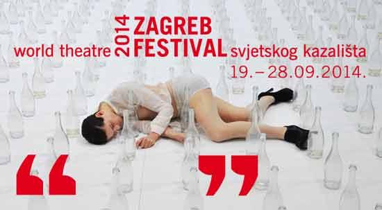 Festival svjetskog kazališta 2014: Program