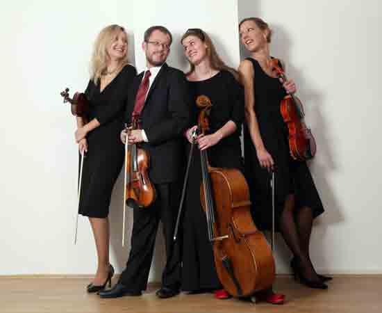 Kvartet Porin u Lisinskom 03. prosinca 2014. godine