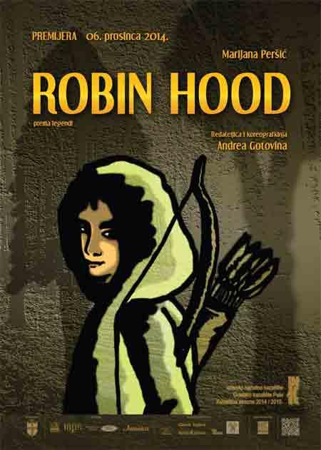 Premijera predstave 'Robin Hood' u pulskom INK-u