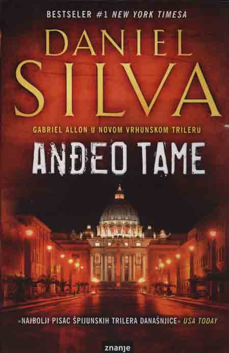 Knjiga: 'Anđeo tame' Daniela Silve o ubojstvu iza vatikanskih zidina