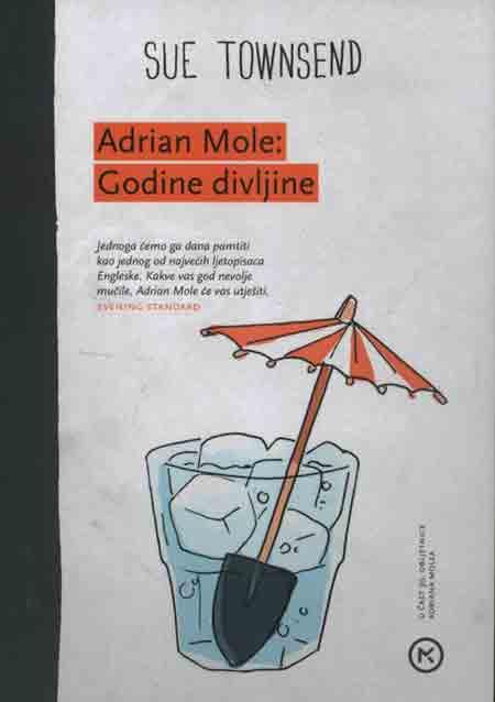 Knjiga: 'Adrian Mole – Godine divljine' Sue Townsend