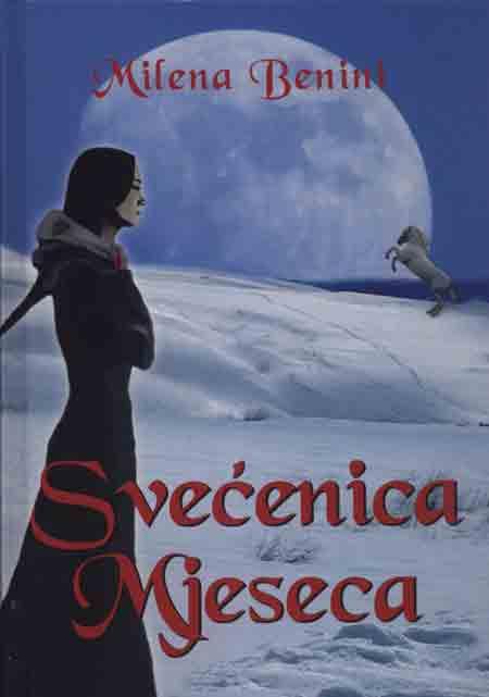 Knjiga: 'Svećenica Mjeseca' Milene Benini hrvatski SF roman