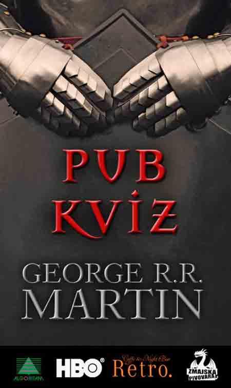 Promocija Georgea R. R. Martina 'Vitez Sedam Kraljevina'