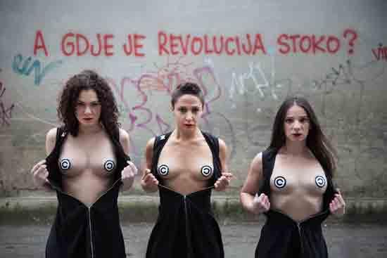 Premijera predstave 'A gdje je revolucija, stoko?' u ZKM-u