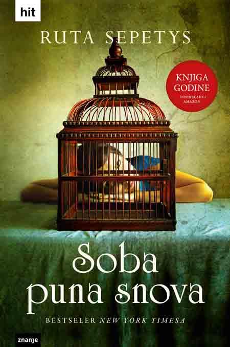 Knjiga: 'Soba puna snova' Rute Sepetys najbolji roman za mlade 2013. godine po izboru Goodreadsa i Amazona