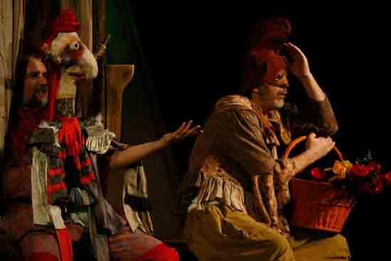 Predstava 'Vještičji pir' u osiječkom Dječjem kazališta Branka Mihaljevića