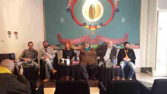 Press konferencija povodom predstave 'Legenda o sv. Muhli' ; Ustupio INK