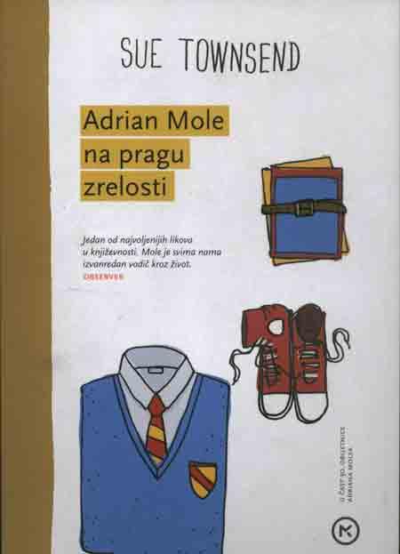 Knjiga: 'Adrian Mole na pragu zrelosti' Sue Townsend živi s roditeljima