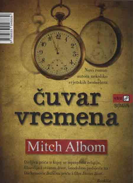 Knjiga: 'Čuvar vremena' Mitcha Alboma o čovjeku kažnjenom zato što je pokušavao izmjerit vrijeme