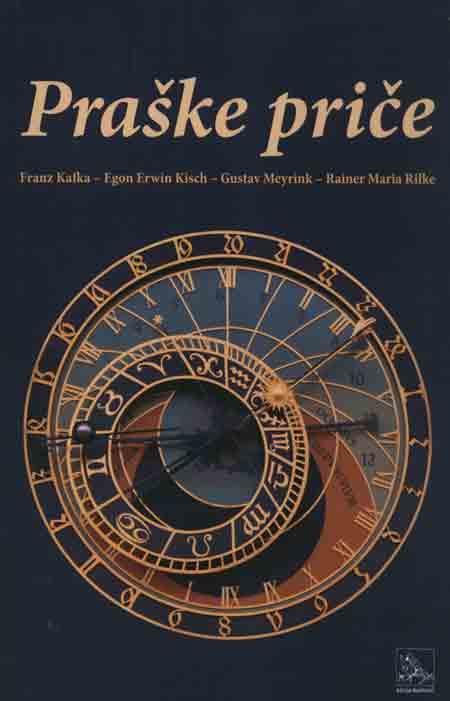 Naslovnica knjige 'Praške priče'