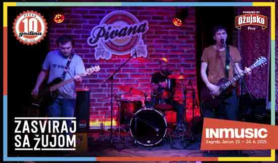 Otvoren ovogodišnji natječaj 'Zasviraj sa Žujom' u organizaciji INmusic festivala i Ožujskog piva
