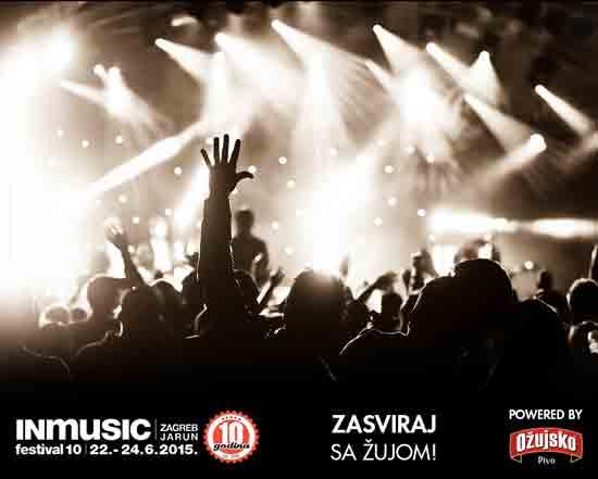 INmusic 2015: Live finale natječaja 'Zasviraj sa Žujom' u srijedu u Pivani
