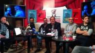 [ 05/06/2015 to 20/06/2015. ] U ponedjeljak 25. svibnja 2015. u Satiričkom kazalištu 'Kerempuh' održana je 'velika', to jest dvostruka konferencija za tisak, koja je obuhvaćala predstavljanje ovogodišnjih, to jest 39. Dana satire Fadila Hadžića i predstavljanje praizvedbe predstave 'ko živ 'ko mrtav', kojom se, izvan konkurencije, Dani otvaraju. U komornoj scenografiji predvorja Kazališta u kojoj su novinari postavljeni u blizinu [...]