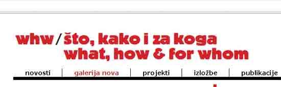"""[ 27/05/2015 to 13/06/2015. ] Izložba, konferencija i radionica """"Javna knjižnica"""" počinje 27.05., u 19h u Galeriji Nova, Teslina 7 (Zagreb). IZLOŽBA, KONFERENCIJA I RADIONICA Javna knjižnica www.memoryoftheworld.org Što, kako i za koga/WHW i Multimedijalni institut Galerija Nova, 27/05 – 13/06/2015. otvorenje – srijeda, 27/05/2015, 19h vođenje: Marcell Mars, Tomislav Medak, WHW  Galerija Nova - Web """"Sve što je čvrsto i postojano pretvara se u dim"""" – od svojih [...]"""