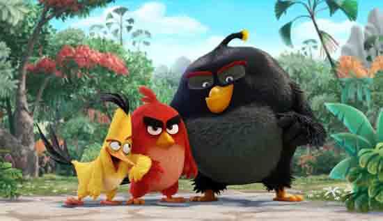 Prve fotografije iz animiranog filma 'Angry Birds'