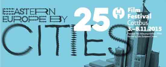 25th FilmFestival Cottbus from 3 to 8 November 2015.