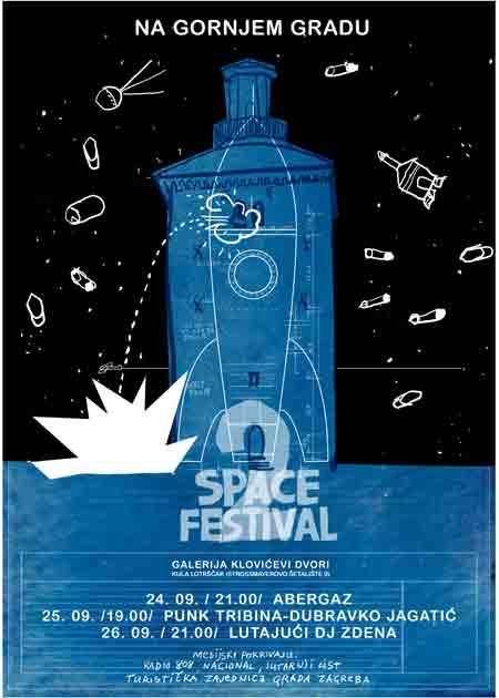 Drugi Space festival u Klovićevim dvorima i Kuli Lotrščak