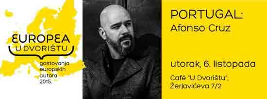 EUROPEA u Dvorištu: Afonso Cruz