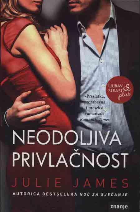 Knjiga: 'Neodoljiva privlačnost' Julie James kombinacija ljubića i krimića