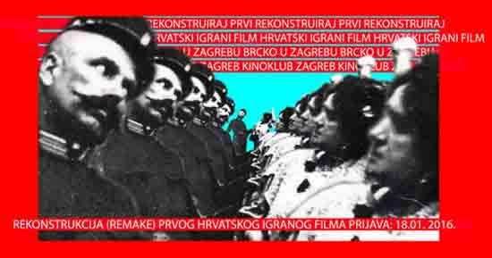 Radionica rekonstrukcije (remake) prvog hrvatskog igranog filma 'Brcko u Zagrebu'