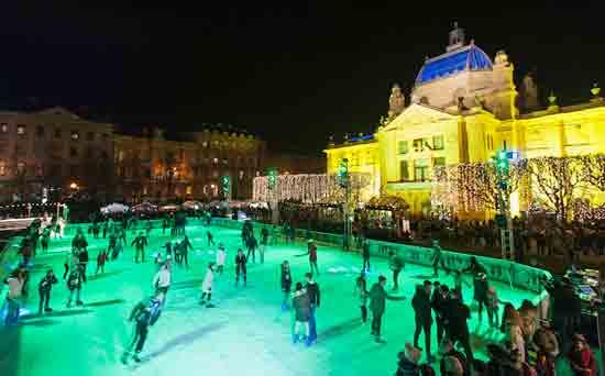Otvoren Ledeni park i Advent na Zrinjevcu