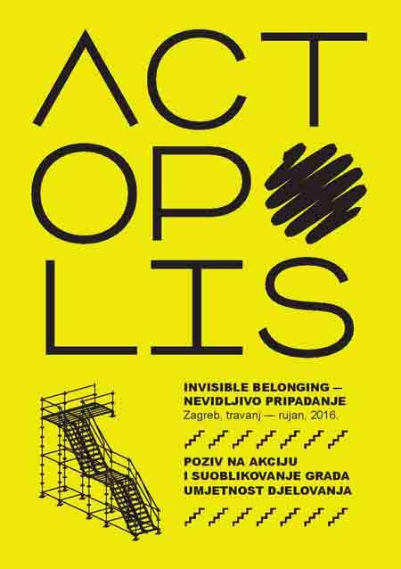 Umjetnička intervencija privremenog stubišta između Strossa i Parka Bele IV. otvara zagrebački ACTOPOLIS