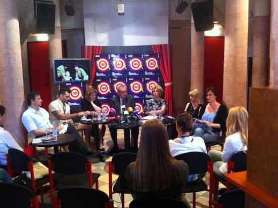 Press konferencija: 40. dani satire Fadila Hadžića