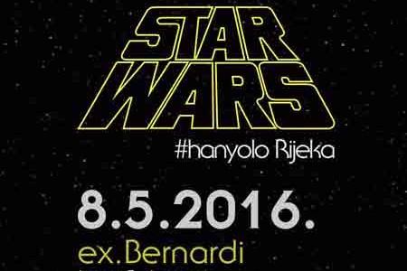 [ 08/05/2016; ] #hanyolo Rijeka – susret ljubitelja Star Warsa Prostor ex-Bernardija, Ivana Grohovca 1, Rijeka Nedjelja 8. svibnja 2016. od 13 sati U nedjelju, 8. svibnja od 13h u prostoru ex-Bernardija (Ivana Grohovca 1) održava se #hanyolo Rijeka - susret ljubitelja Star Warsai onih koji će to tek postati!  #hanyolo Rijeka: Susret ljubitelja Star Warsa - Vizual #hanyolo nudi debatu debatnog kluba Doma [...]