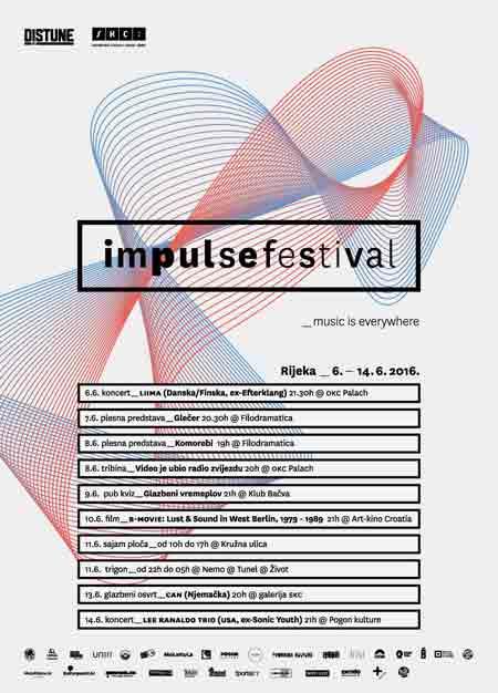 Impulse Festival od 06. do 14. 6. 2016. u Rijeci