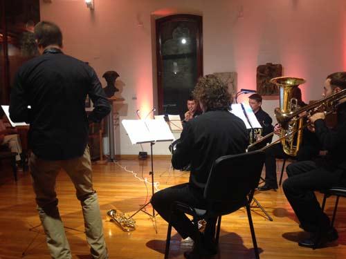 7. MAGfestival - Brass kvintet Podium. Foto: VJB.