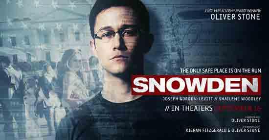 Snowden - Poster ; Ustupio Editus