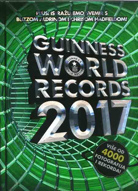 Knjiga: Guinness World Records 2017 mnogo korisnih i zabavnih informacija
