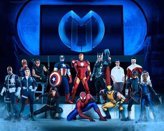 Marvelovi superjunaci u zagrebačkoj Areni u prosincu ove godine