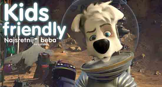 KIDS FRIENDLY: SVEMIRSKA AVANTURA 2, animirani znanstveno-fantastični, 76 min [osvrt Iva Brčić]
