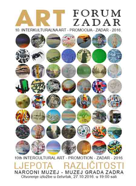 Izložba 'Ljepota različitosti' u Narodnom muzeju – Muzeju Grada Zadra [piše Nikola Šimić Tonin]