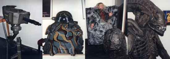 Alien War - neki od eksponata u muzeju ; Ustupio TB