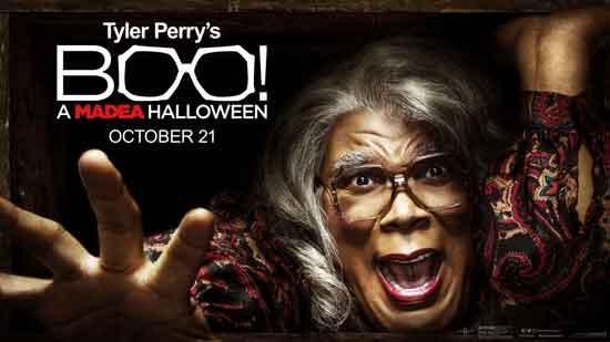 Boo! A Madea Halloween - Poster ; Ustupio impawards.com