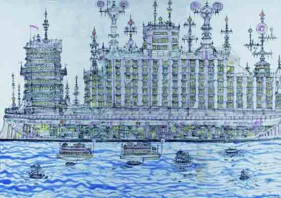 Izložba 'Gradovi iz snova' u Hrvatskom muzeju naivne umjetnosti