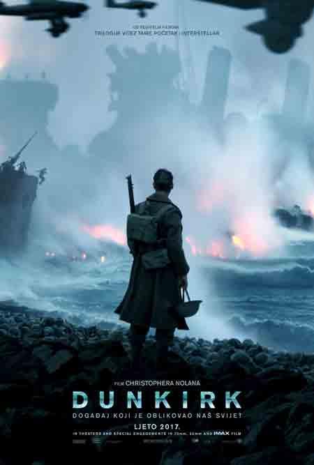 Ratni film 'Dunkirk' u hrvatskim kinima