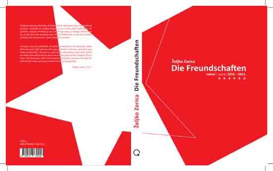 Korice knjige 'Die Freundschaften'