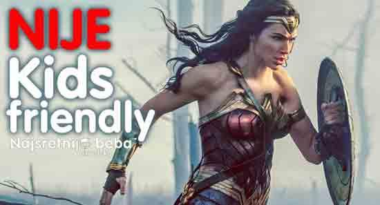 Kids Friendly – Wonder Woman ; Fotografiju ustupila IB