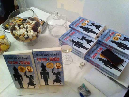 Promocija knjige 'Faraon & Orašar' u Arheološkom muzeju [piše Robert Jukić]