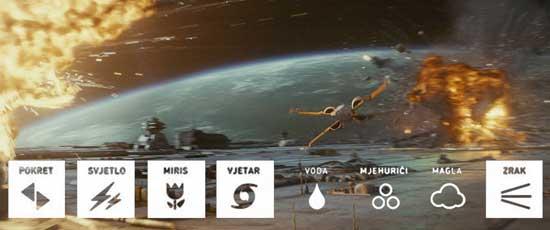 Ratovi zvijezda: Posljednji Jedi 3D 4DX